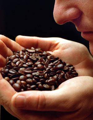 Image result for smelling coffee